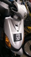 Plate FB321 with Demak Scooter
