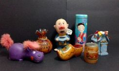 Vintage Coin Bank Collection (1970-1980s)