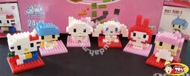 Combination TOYS Hello Kitty 6 in 1 Full Set