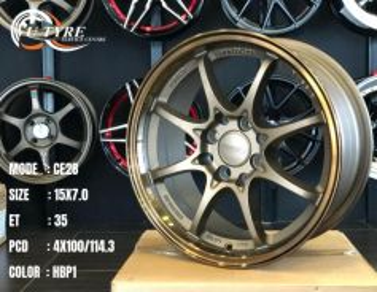 New 15 inch ce28 Japan design sport rim