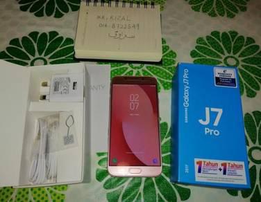 SAMSUNG Handphone J7 PRO 32GB 2017 4g Lte Kuching