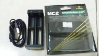 Caj mc2 dan 3 bateri
