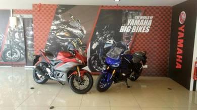 Yamaha yzf-r25 r25 deposit kasih sayang MERDEKA 19
