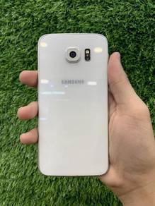 Samsung Galaxy S6 Pearl White (53501) LIKE NEW