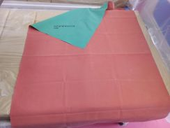Waterproof sheet ( made in rubber) for home use