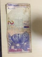 Old 2 RM Banknote