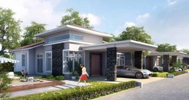 Rumah Banglo Baru, Gated & Guarded, Near Senawang KTM Station