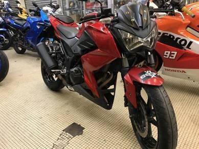 Kawasaki z250 tiptop - pinjaman muka rendah