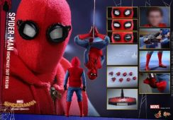 Spider-Man Homemade Suit Hot Toys Homecoming