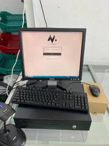 Mesin Cashier POS System Kaunter Cash Register DPN