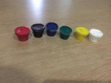 Oil paint color for kids