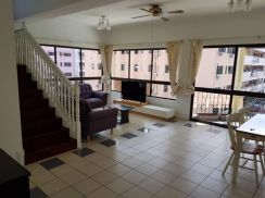 Grace Ville Apartment ( Duplex unit ) , Corner - For Sale