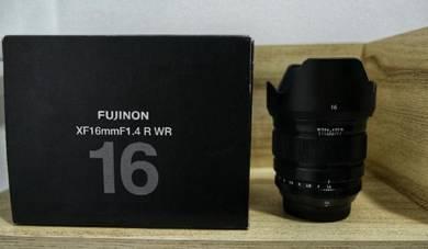 Fujifilm 16mm F1.4 (used) Malaysia Set LIKE NEW
