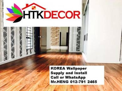 PVC Vinyl Wall Paper for various environments 79DH
