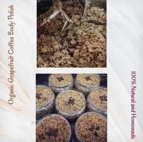 Organic Grapefruit Coffee Body Polish