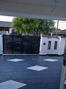 Single storey taman universiti / skudai / low rental