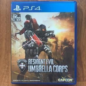 PS4 Resident Evil Umbrella Corps