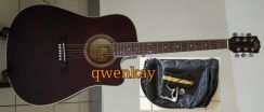 Acoustic Guitar 41Inch A&K #320 Brown