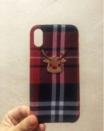 Reindeer Red Checked Casing