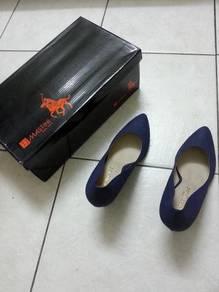 High Heel Shoes Navy Blue