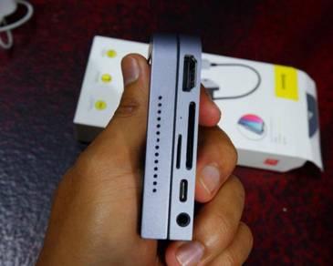 Baseus USB C HUB For iPad Pro 12.9 11 2018 Type C