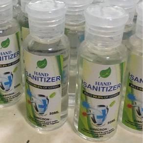 Hand sanitizer 50ml (gel based)