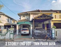 Double Storey House Taman Pauh Jaya For Sale