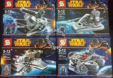 Bricks - SY 205 a/b/c/d Star wars series
