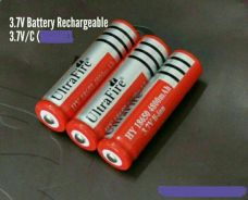 Battery rechargergeable 3.7v