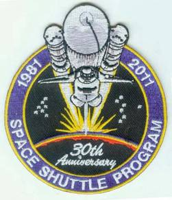 NASA STS-1 Space Shuttle Program 30th Anniv Patch