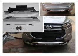 Toyota innova 17-18 front & rear bumper guard
