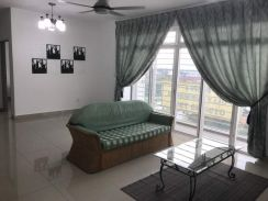 Fully Furnished Condo At Dwiputra Residences, Corner Unit - 1,200sq.ft