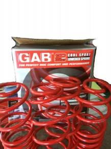 GAB Lowered Sport Spring Proton Iriz 1.3