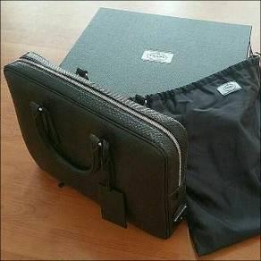 New Authentic Prada Briefcase Python Reticulatus
