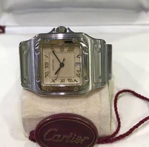 Cartier santos watch 1564