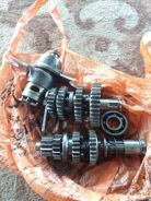 Crankshaft ex5 dan gear ex5 full set ori moto