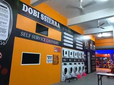 Self service laundry /dobi layan diri