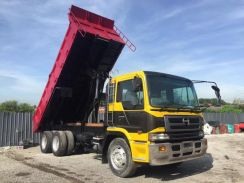 HINO NISSAN k13c with new tipper body UNREGISTER