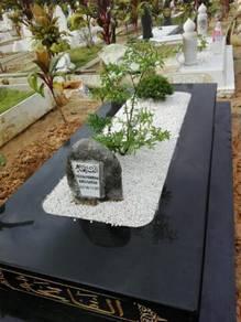 Kepok Kubur, Batu Nesan dan pusara