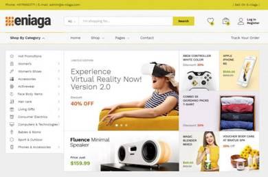 Perniagaan Online E-niaga.com untuk dijual