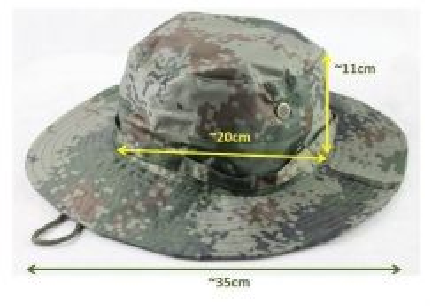 BPS Sun Block Brim Outdoor Fishing Boonie Hat Cap