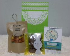 Doorgift-Yaasin,Tasbih dan p.bag