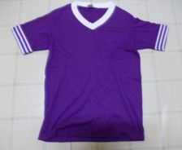 VINTAGE SOFFE SHIRTS 50/50 V-Neck T-Shirt Stripe