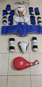 Taekwando sparring gear for primary school kids
