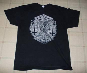 MAYHEM BAND T-SHIRT: Psywar 2014 Shirt BLACK METAL