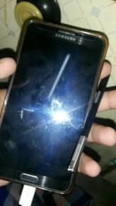 Samsung note 3 + 2 btri + 2 casing + cable ori