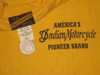 Toyo Buzz Rickson Indian Motorcycle t-shirt