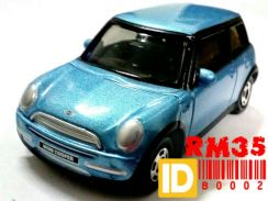 TOMICA MINI COOPER Blue