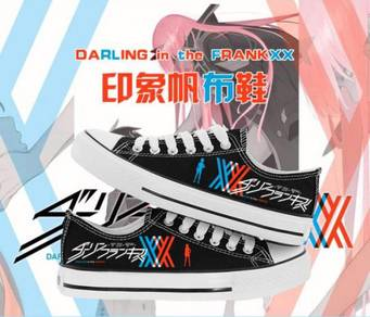 Anime Darling in the franxx canvas shoes