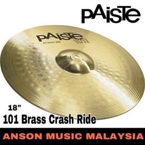 Paiste 101 Brass 18'' Crash Ride